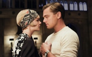 Leonardo DiCaprio as Jay Gatsby, Carey Mulligan as Daisy Buchanan
