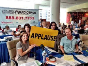 Eric & Kathy's Radiothon has raised over 23 million dollars for kids and families treated at Children's Memorial Hospital over the past thirteen years