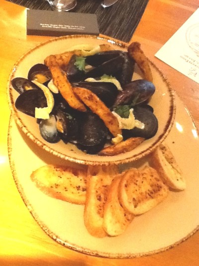 Bouchot Mussels Bastille Day menu will be available through August 14.