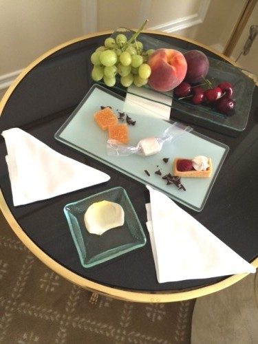 The Peninsula Beverly Hills is a luxury hotel at the intersection of Wilshire and Santa Monica Boulevard