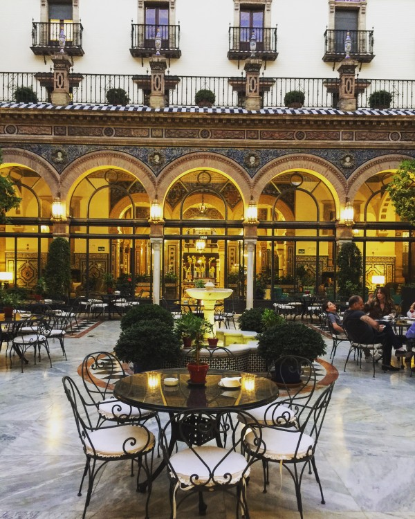 Hotel Alfonso XIII is a historic hotel in Seville, Spain, located on Calle San Fernando.