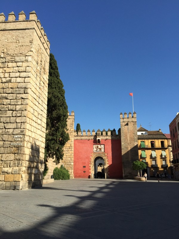 The Alcazar of Seville is a great spot to see and learn about the history of the kings, and royal families