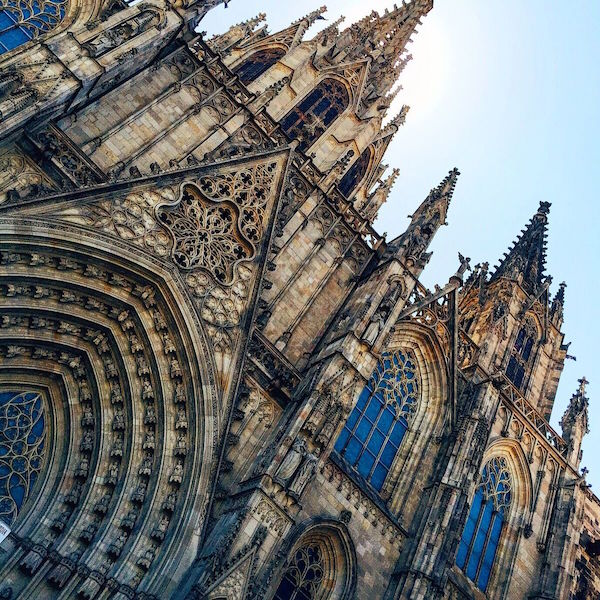 The Cathedral of the Holy Cross and Saint Eulalia, also known as Barcelona Cathedral, is the Gothic cathedral and seat of the Archbishop of Barcelona, Spain